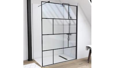 Marwell Walk-in-Dusche, inkl. Haltestange für Deckenmontage kaufen