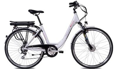 Chrisson E - Bike »E - LADY«, 8 Gang Shimano RD - M360 - SGS Schaltwerk, Kettenschaltung, Frontmotor 250 W kaufen