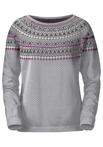 Pullover im Norweger - Jacquardmuster kaufen