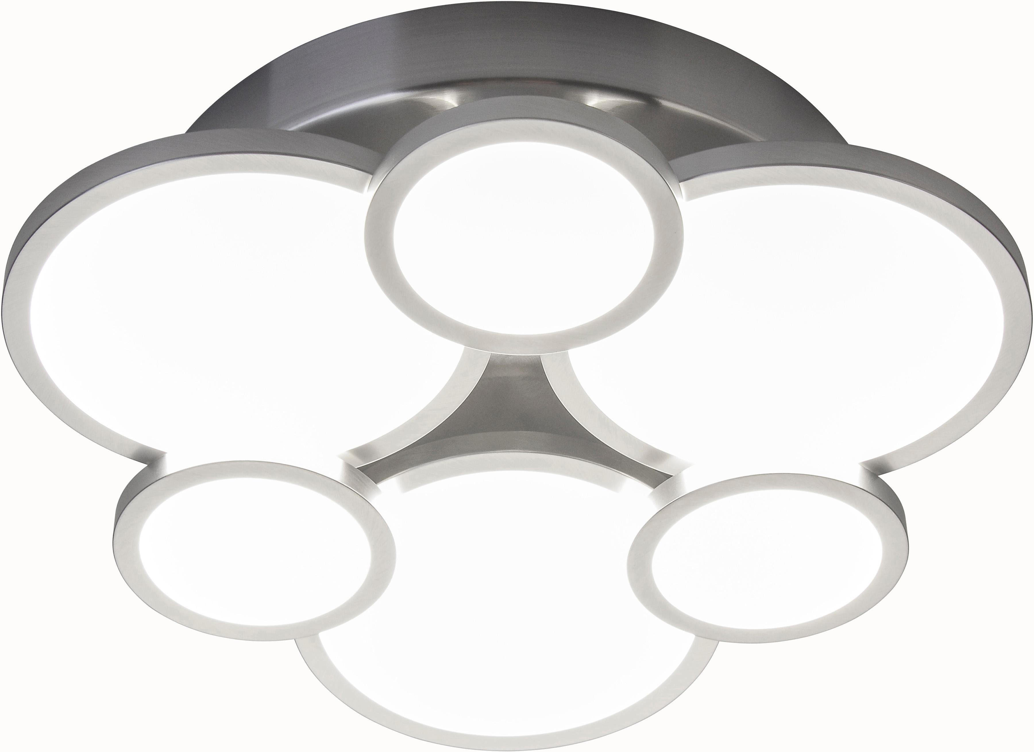 Nino Leuchten LED Deckenleuchte Neo, GU10, 1 St., Warmweiß, LED Deckenlampe