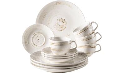 Home affaire Kaffeeservice »Arnust«, (12 tlg.), Porzellan kaufen