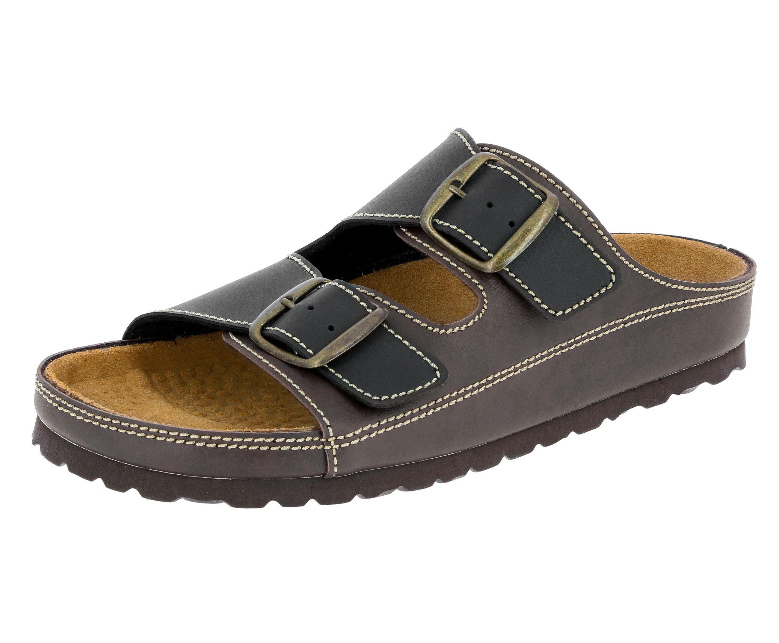 Lico Pantolette Pantolette Natural Man | Schuhe > Clogs & Pantoletten | Braun | Lico