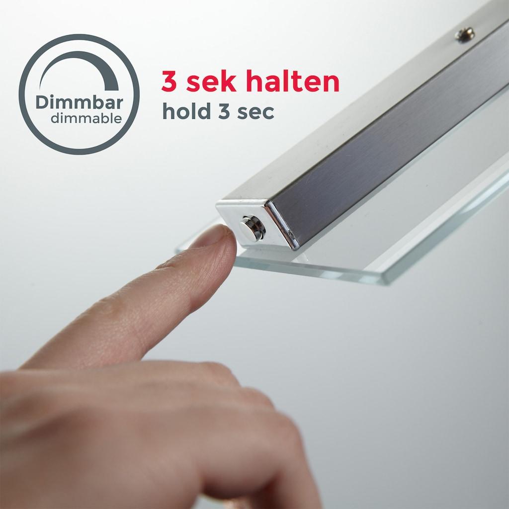B.K.Licht LED Pendelleuchte, LED-Board, Warmweiß, Hängeleuchte, LED Hängelampe dimmbar inkl. 20W 1600lm 3000K höhenverstellbar Echtglas IP20