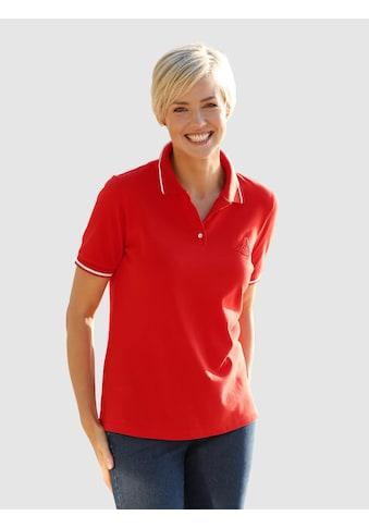 Dress In Poloshirt mit Stickerei kaufen