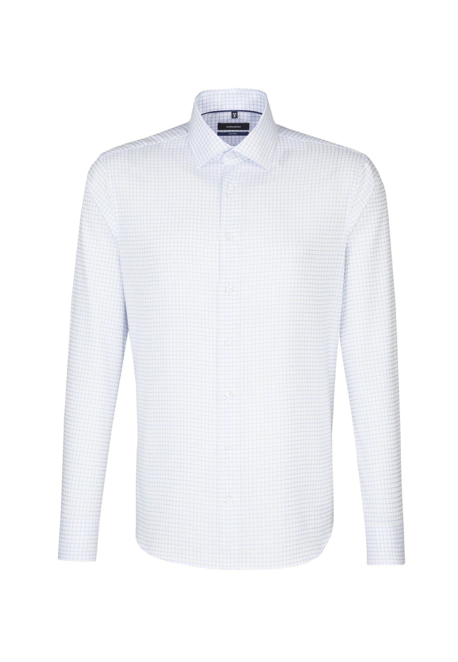 seidensticker Businesshemd »Tailored« | Bekleidung > Hemden > Business Hemden | Blau | Twill | SEIDENSTICKER