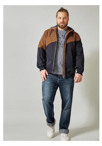 Men Plus by HAPPYsize Jacke in Colour - Blocking kaufen