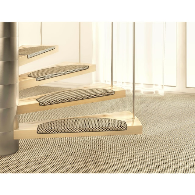 Stufenmatte, »Brasil«, Dekowe, stufenförmig, Höhe 10 mm, maschinell gewebt