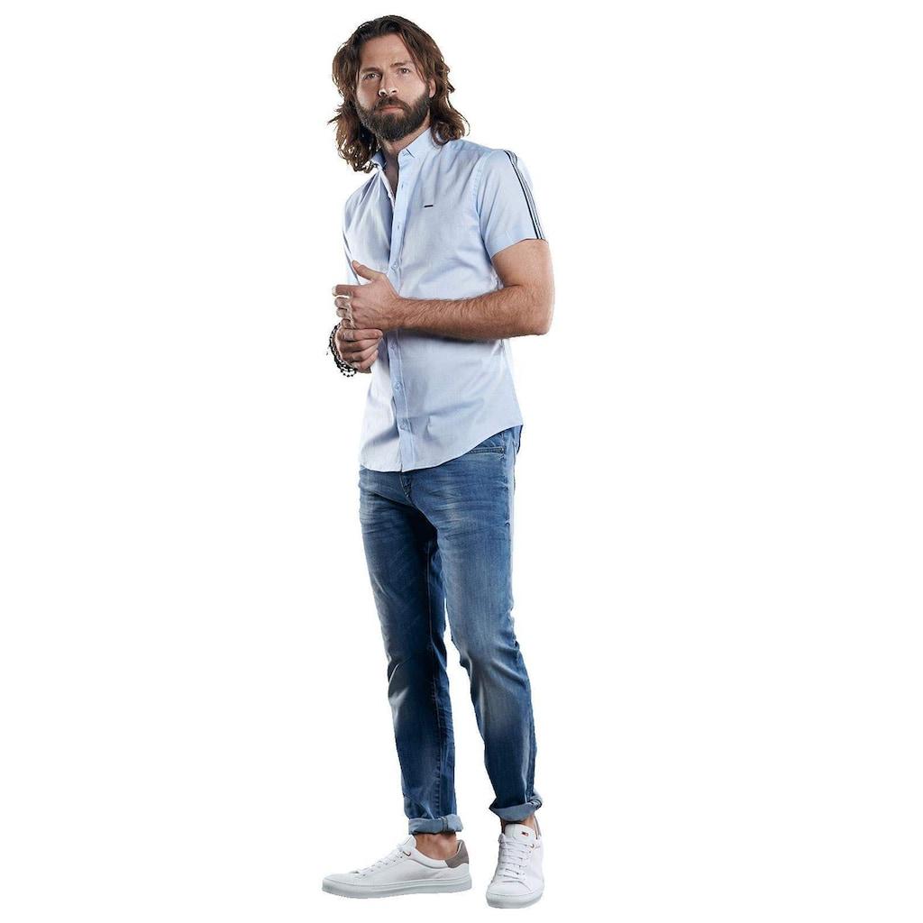 emilio adani Baumwollhemd aus Oxford-Warenqualität