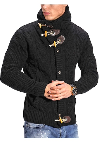 behype Strickjacke »JORIS«, mit Knebelverschluss kaufen
