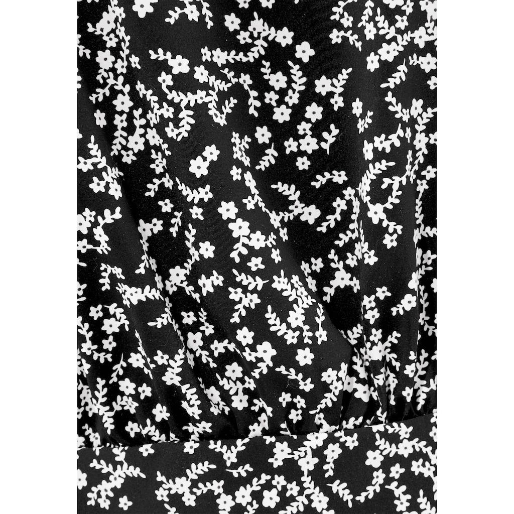 LASCANA Oversize-Tankini-Top »Meadow«