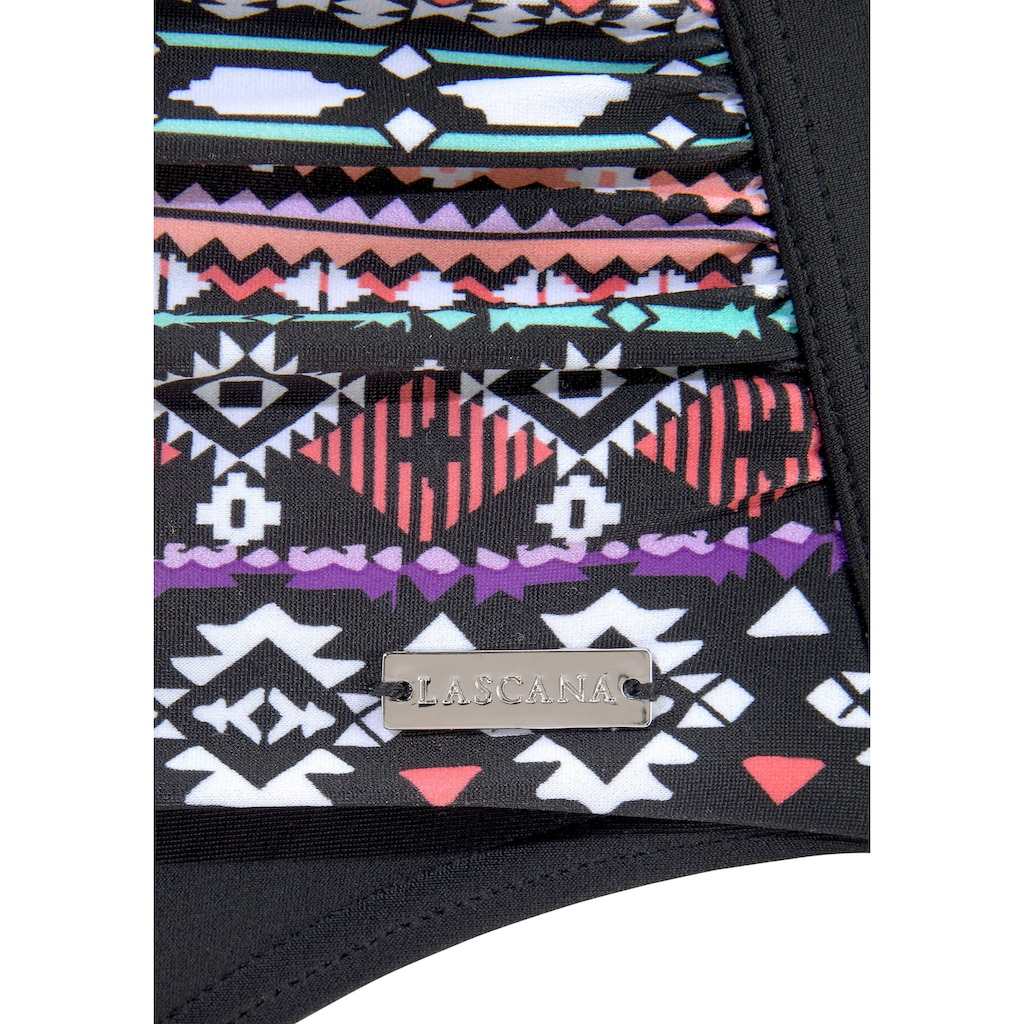 LASCANA Badeanzug, mit Muster im Ethno-Stil