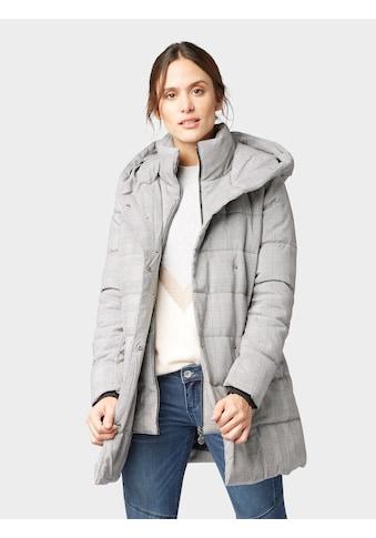 TOM TAILOR Dufflecoat »Karierter gefütterter Mantel« kaufen