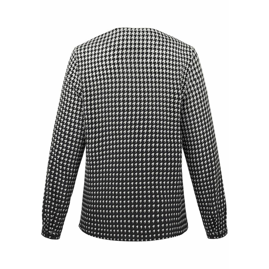 Emilia Lay Shirtbluse »aus 100% Seide«, Knopf