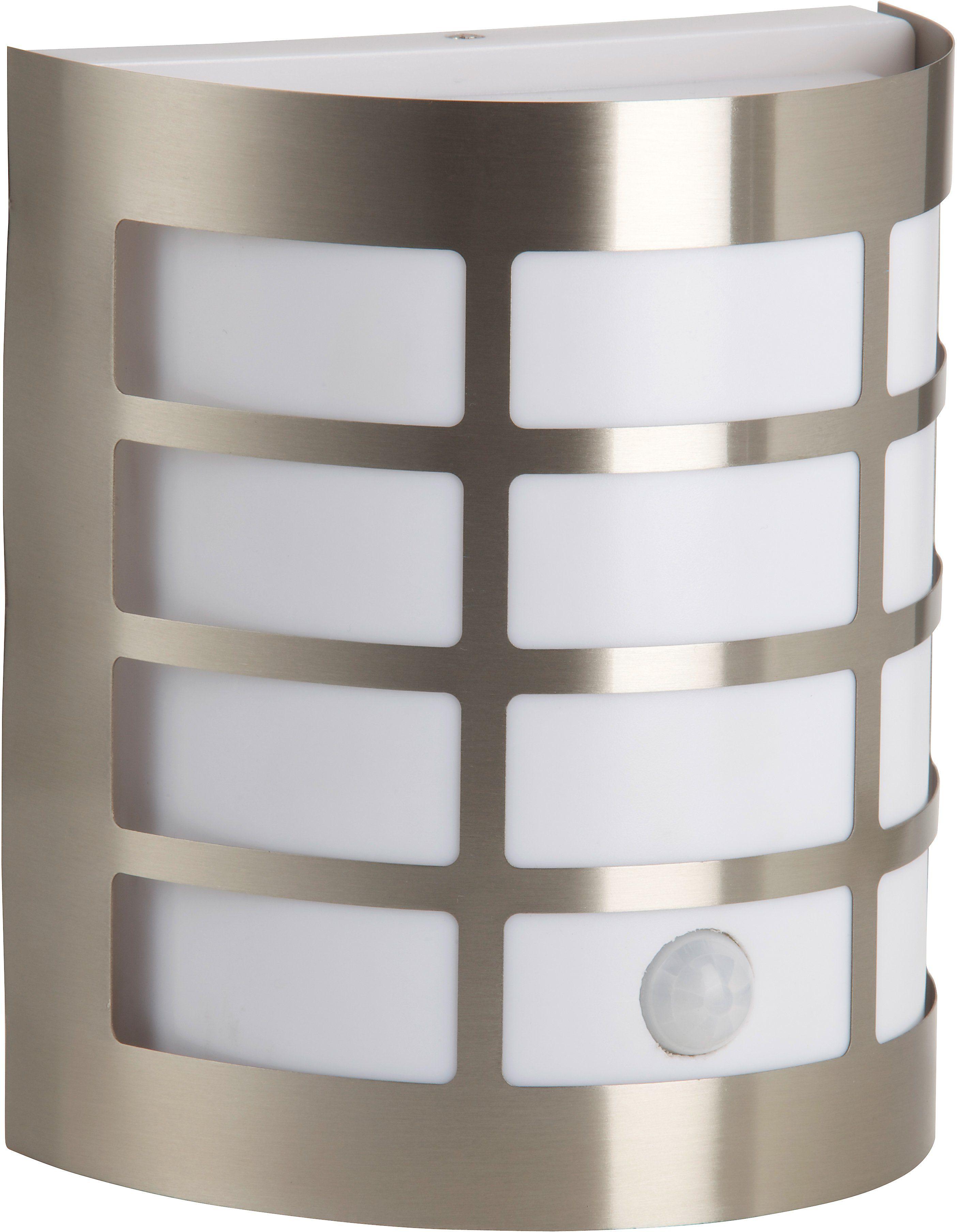 Brilliant Leuchten Außen-Wandleuchte RUNE, E27, mit Bewegungsmelder