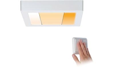 Paulmann,LED Deckenleuchte»Carpo LED Panel Warmdimmfunktion Weiß matt 13W Metall«, kaufen