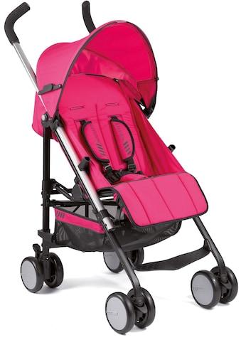 Gesslein Kinder-Buggy »S5 4+4, Pink«, mit schwenkbaren Vorderrädern; Kinderwagen,... kaufen