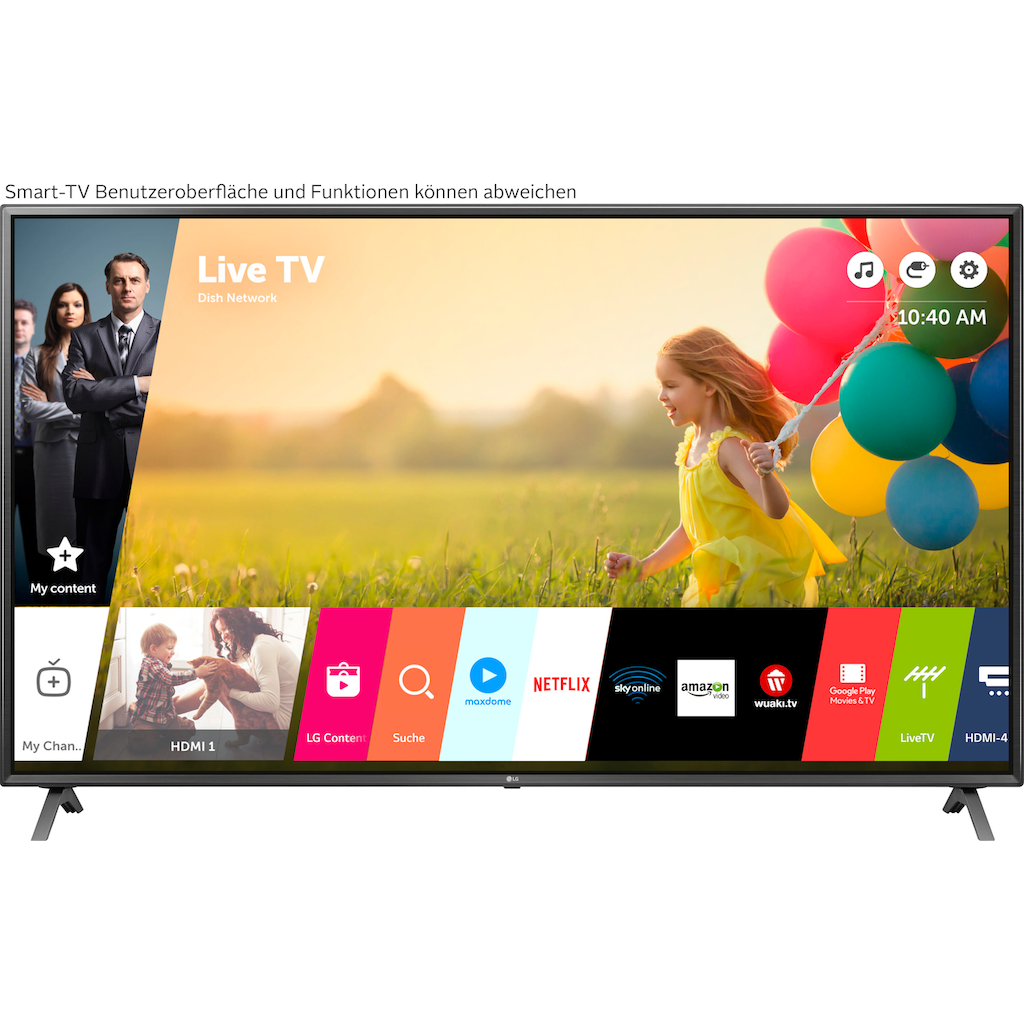 """LG LED-Fernseher »86UN85006LA«, 217 cm/86 """", 4K Ultra HD, Smart-TV"""