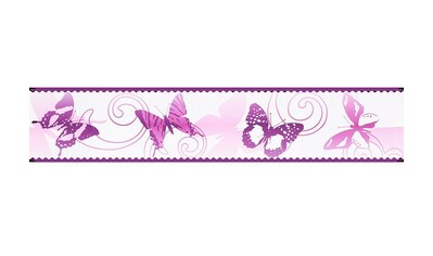 LIVINGWALLS Bordüre »Stick Ups Schmetterling«, für das Kinderzimmer, selbstklebend kaufen
