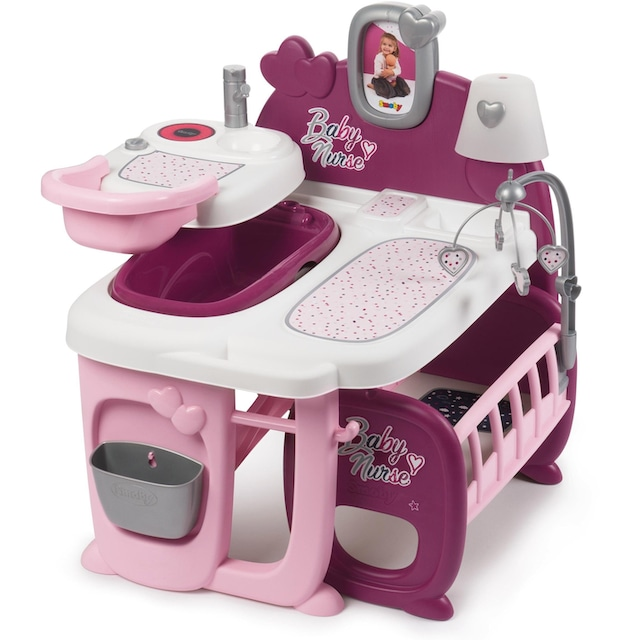 """Smoby Puppen Pflegecenter """"Baby Nurse Puppen-Spielcenter"""""""