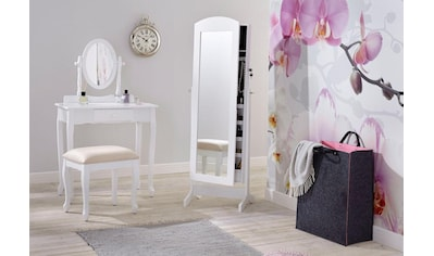 Home affaire Schminktisch, (Set), mit ovalem Spiegel und Hocker kaufen