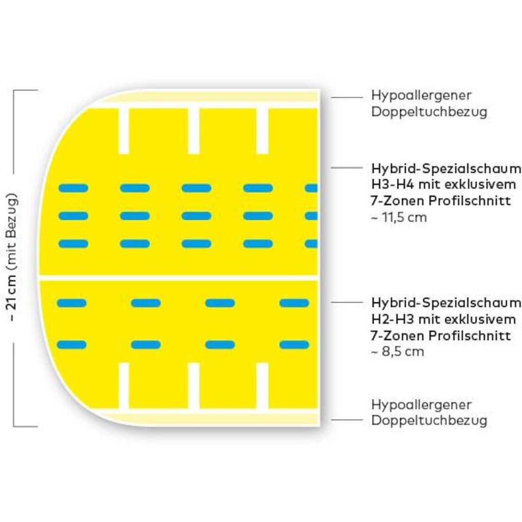 Hilding Sweden Komfortschaummatratze »Malmö Duokern«, (1 St.), Wendematratze mit zwei unterschiedlich festen Liegeseiten