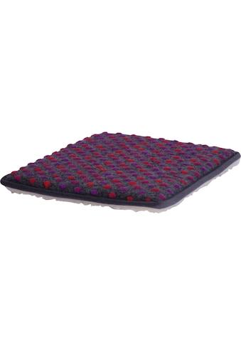 DELAVITA Stuhlkissen »Punkte«, aus reiner Schurwolle (2 Stück) kaufen