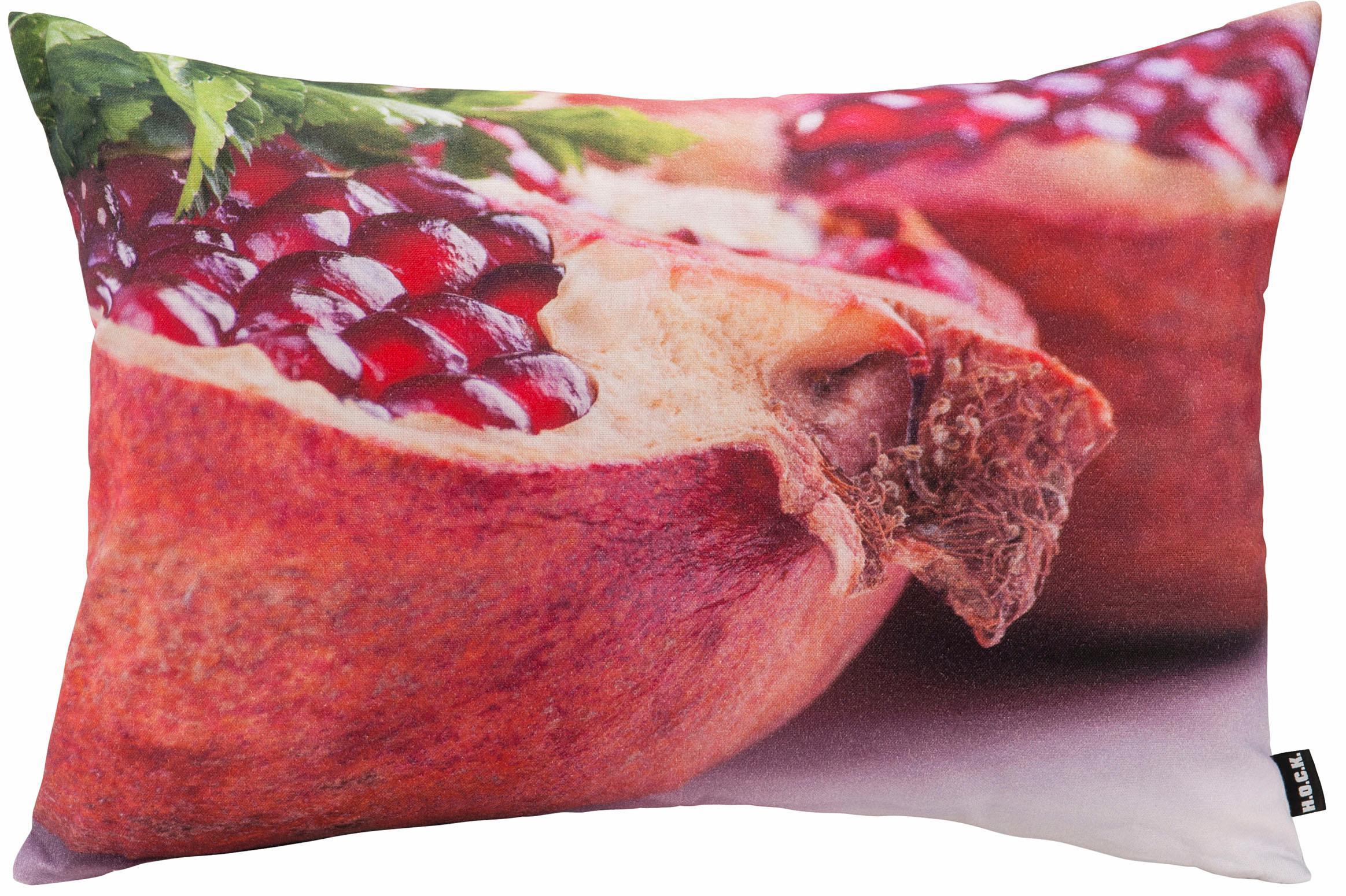 H.o.c.k. Kissen mit Granatapfelmotiv