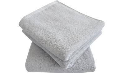 Dyckhoff Handtuch Set »Pünktchen«, mit gemustertem Saumabschluss kaufen