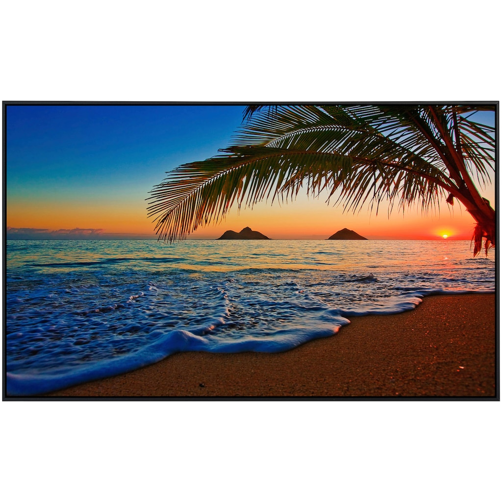 Papermoon Infrarotheizung »Lanikai Beach Hawaii«, sehr angenehme Strahlungswärme