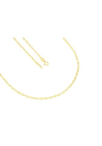 La Piora Goldkette »Anker«, 585/- Gelbgold gedrückt diamantiert kaufen