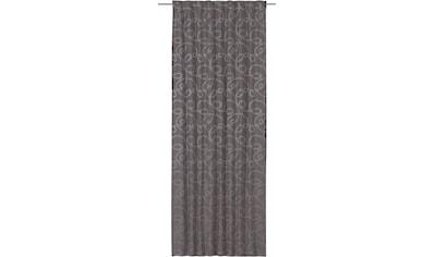ELBERSDRUCKE Gardine »Swirl«, Schlaufenbandschal mit Bleistiftfaltenband Swirl 16... kaufen