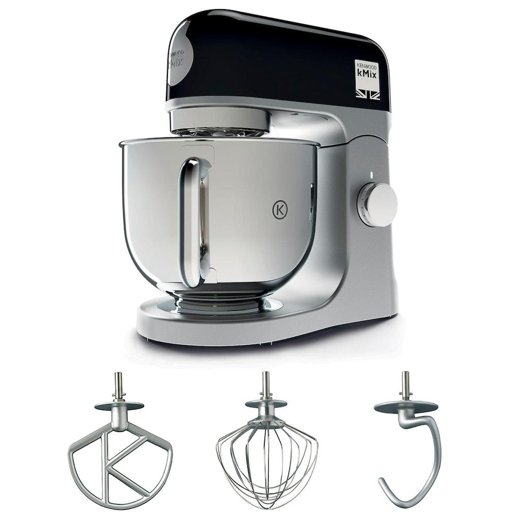 KENWOOD Küchenmaschine »kMix KMX 750BK«, 1000 W, 5 l Schüssel, inkl. 3-tlg. Patisserie-Set und 5l Schüssel