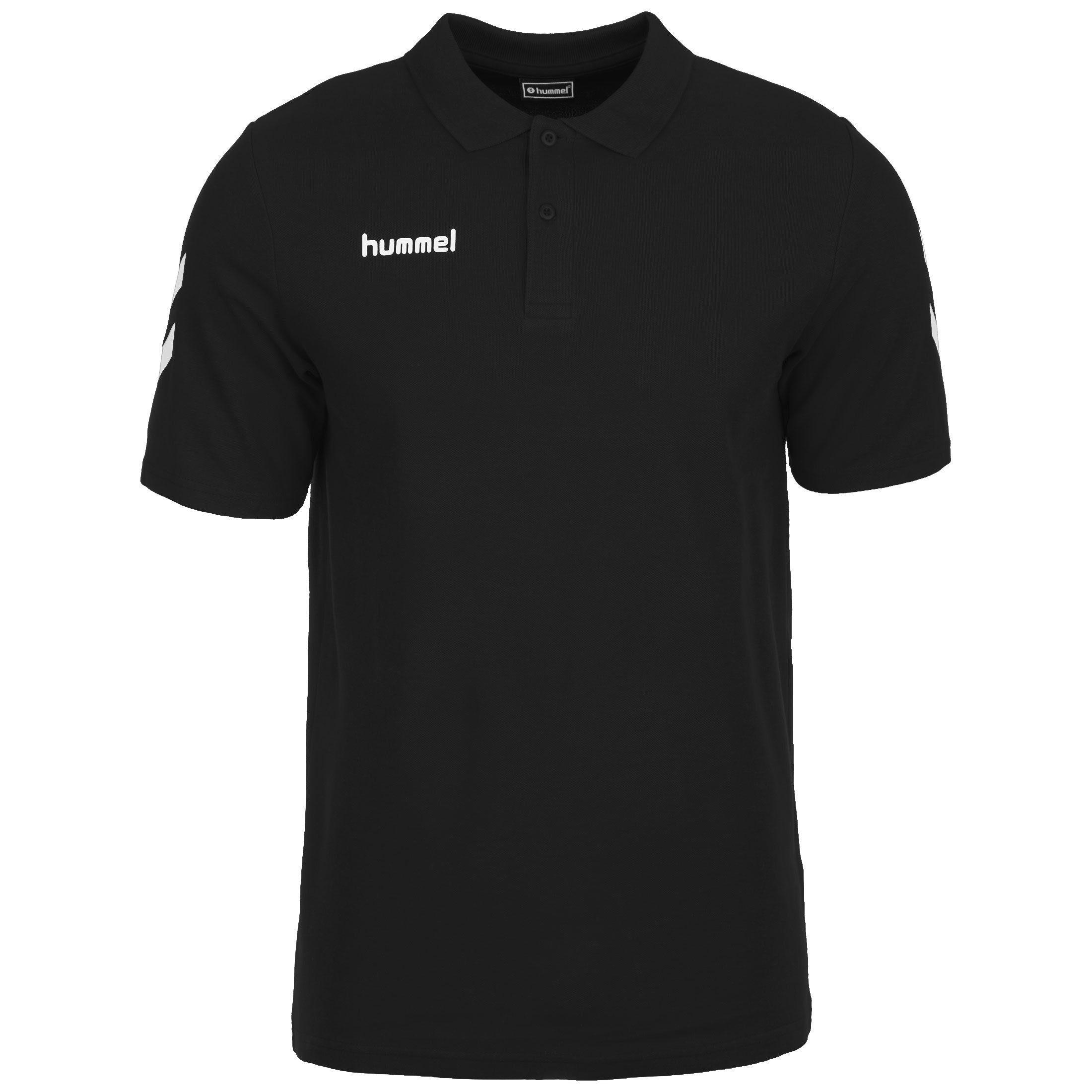 hummel Poloshirt Hmlgo   Bekleidung > Polo Shirts > Kurzarm   Schwarz   Hummel