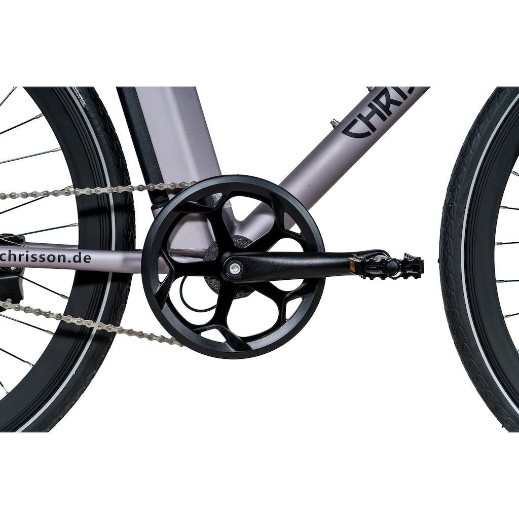 Chrisson E-Bike »eOctant Kettenantrieb«