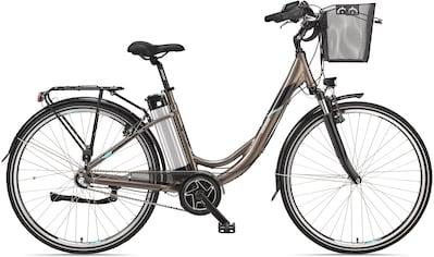Telefunken E - Bike »Multitalent RC865«, 3 Gang Shimano Nabenschaltung, Mittelmotor 250 W (mit Fahrradkorb) kaufen