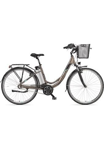 Telefunken E-Bike »Multitalent RC865«, (mit Fahrradkorb) kaufen
