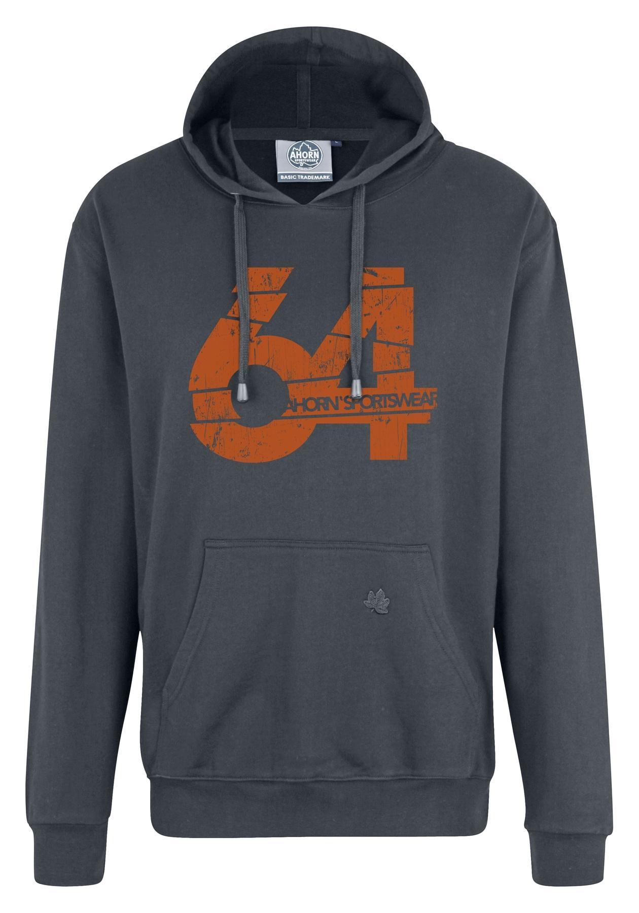 ahorn sportswear -  Hoodie, mit modischem Frontdruck