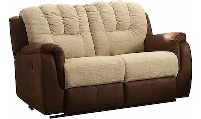 Home affaire 2-Sitzer »Petra«, mit Relaxfunktion im Bezug-Mix kaufen