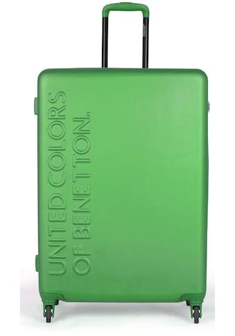 United Colors of Benetton Hartschalen-Trolley »UCB, 55 cm, green«, 4 Rollen kaufen