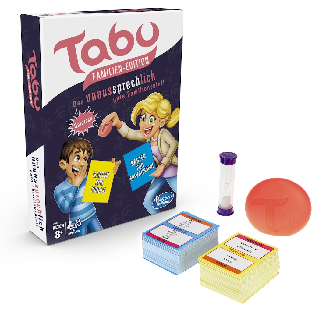 Hasbro Spiel »Tabu Familien-Edition«, Made in Europe