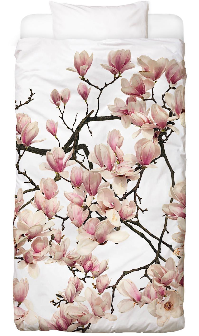 Bettwäsche Flora - Magnolie Juniqe