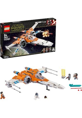 LEGO® Konstruktionsspielsteine »Poe Damerons X-Wing Starfighter™ (75273), LEGO® Star Wars™«, (761 St.), Made in Europe kaufen