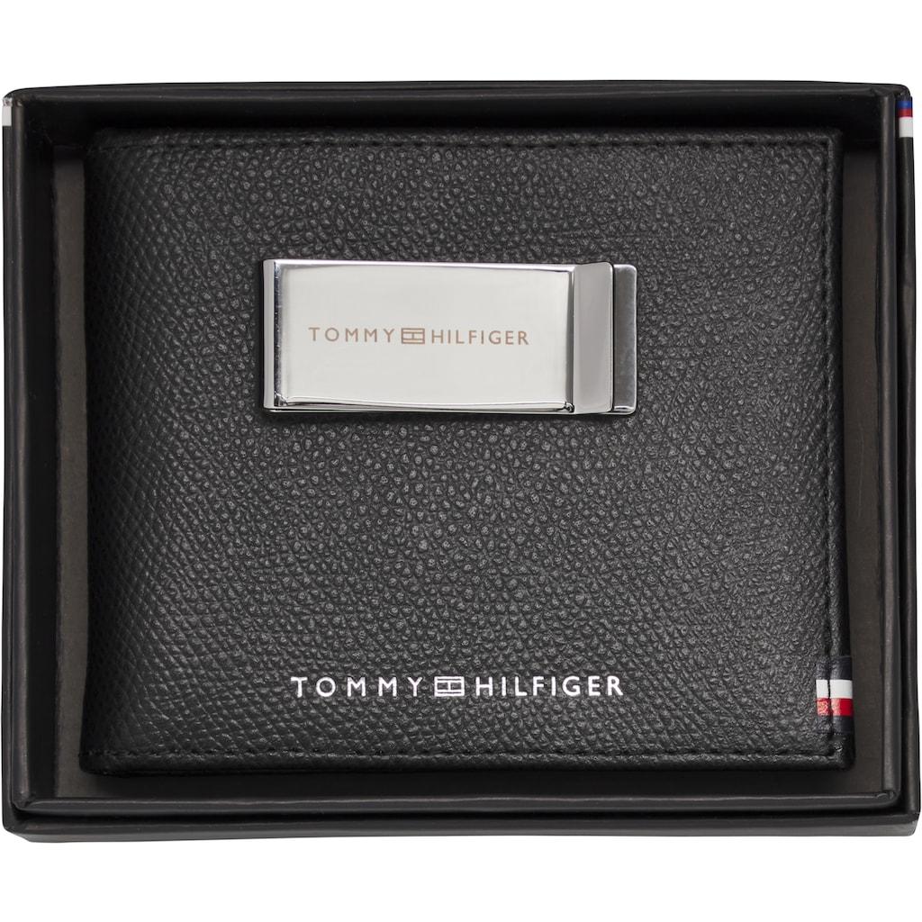 TOMMY HILFIGER Geldbörse »BUSINESS MINI CC WALLET AND CLIP«, mit Clip für Geldscheine