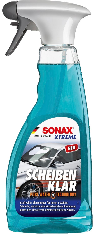Sonax Autopolitur ScheibenKlar Xtreme NanoPro, 0,5l blau Autopflege Autozubehör Reifen