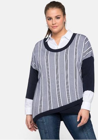 Sheego 3/4 Arm - Pullover kaufen