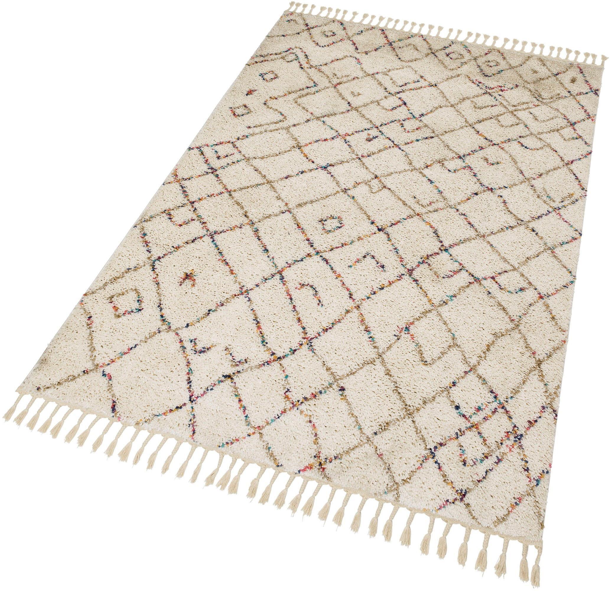 Hochflor-Teppich Urban 184 SCHÖNER WOHNEN-Kollektion rechteckig Höhe 30 mm maschinell gewebt