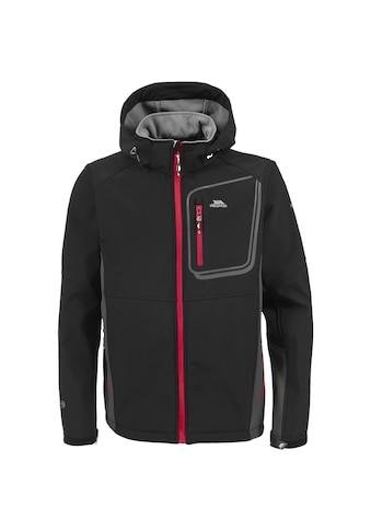Trespass Softshelljacke »Herren Strathy Softshell-Jacke mit Kapuze« kaufen