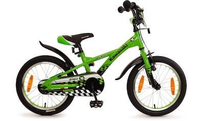"Bachtenkirch Mountainbike »16"" Kinderfahrrad ""KAWASAKI - Ninja"", grün/schwarz« kaufen"