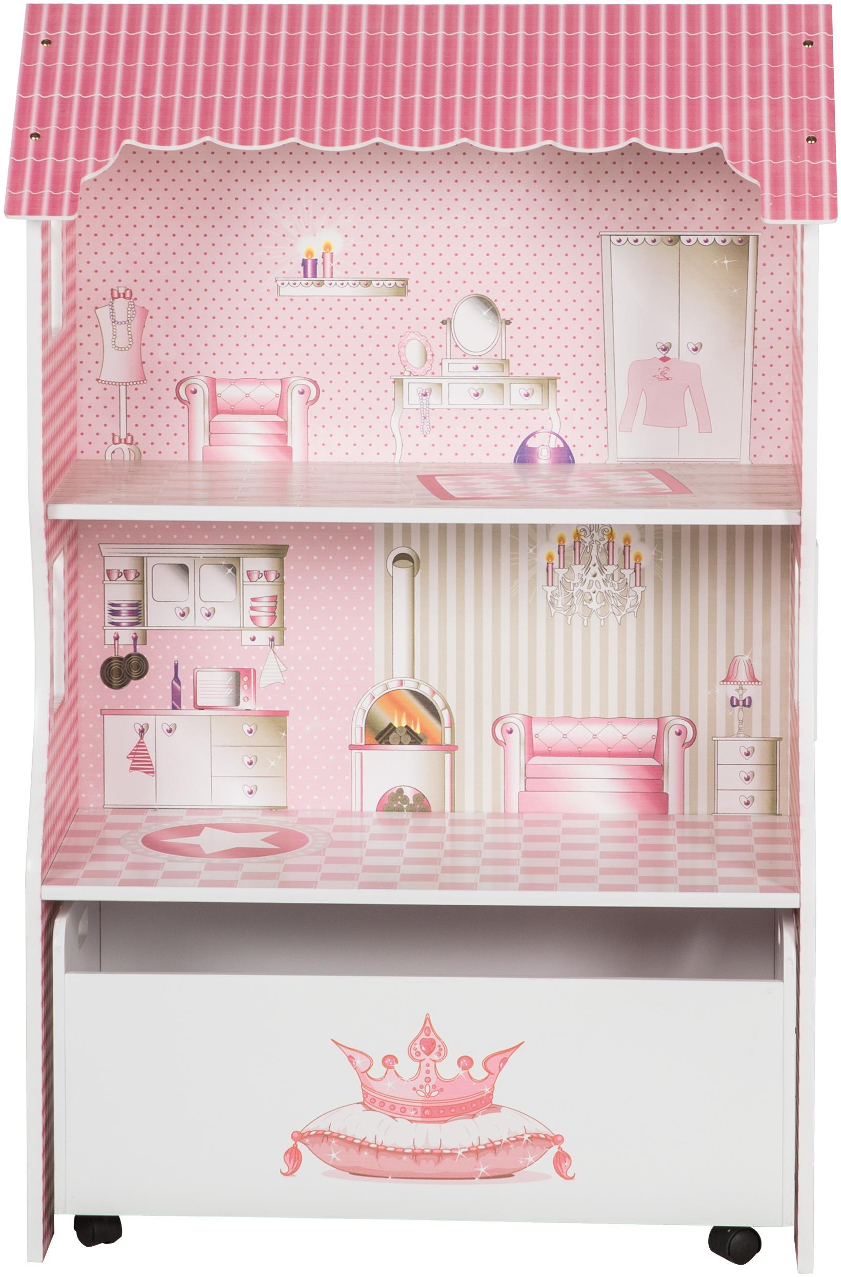 """Roba Puppenhaus """"Puppenvilla für Ankleidepuppen"""" Kindermode/Spielzeug/Puppen/Puppenhaus"""