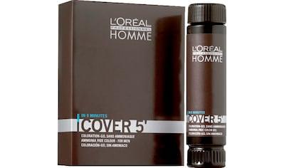 L'ORÉAL PROFESSIONNEL PARIS Haartönung »Homme Cover 5 No.4«, mittelbraun kaufen